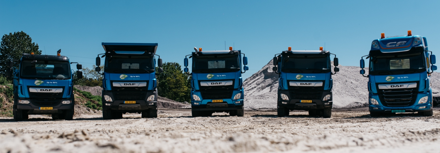 Header image DAF Trucks  - Downsouth Events - 3
